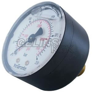 MANOMETER GLYC 1/4'' 250BAR BA
