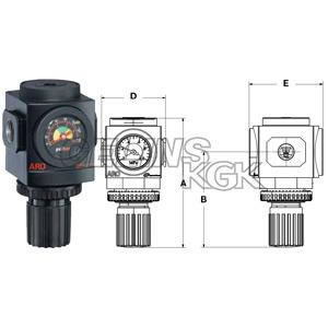 "REGULATOR 3/8"" TYP R"