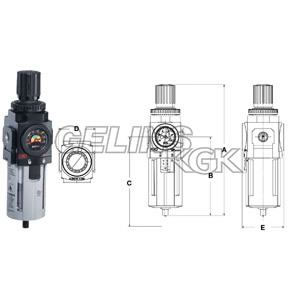 "FILTERREGULATOR 3/8"" TYP F+R"