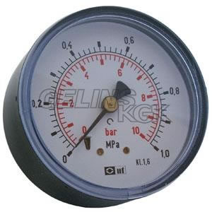 "MANOMETER 63 MM 1/4"" BAK"