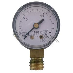 "MANOMETER 1/4"" 16 BAR 40MM NER"