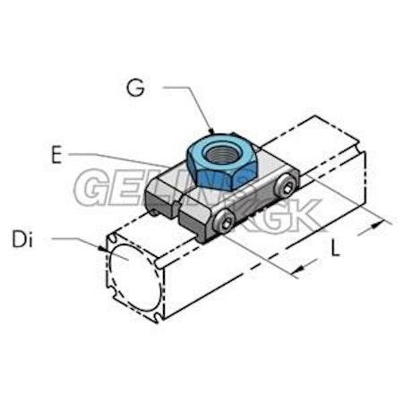 AP45 UTTAGSKOPPLING INV G3/8