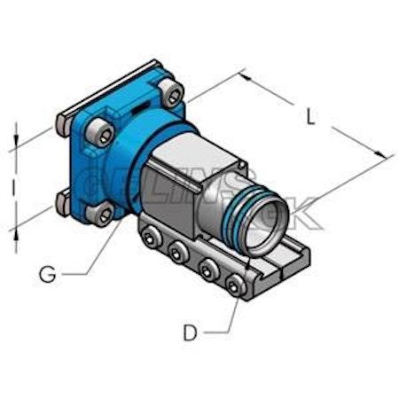 HBS - AP54 REDUC KOPPLING I60