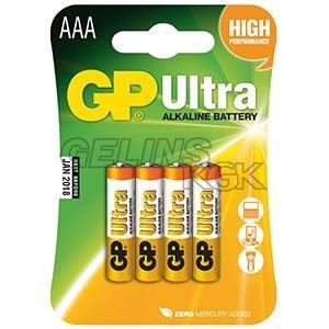 BATTERI GP AAA/4-PACK BLISTER