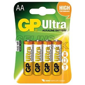 BATTERI GP AA/4-PACK BLISTER