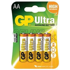 BATTERI GP AA/4-PACK BLISTER