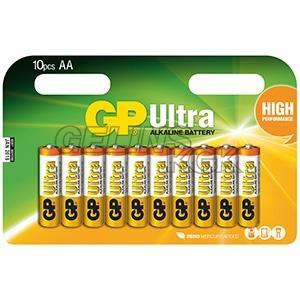 BATTERI GP AA/10-PACK BLISTER