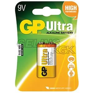 BATTERI GP 9V/1-PACK BLISTER