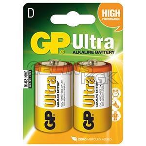 BATTERI GP D/2-PACK BLISTER