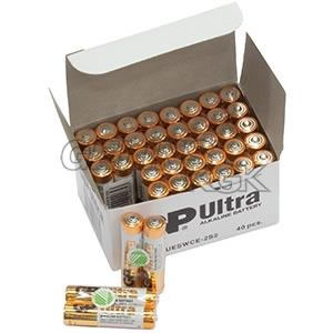 BATTERI GP AAA/40-PACK BULK