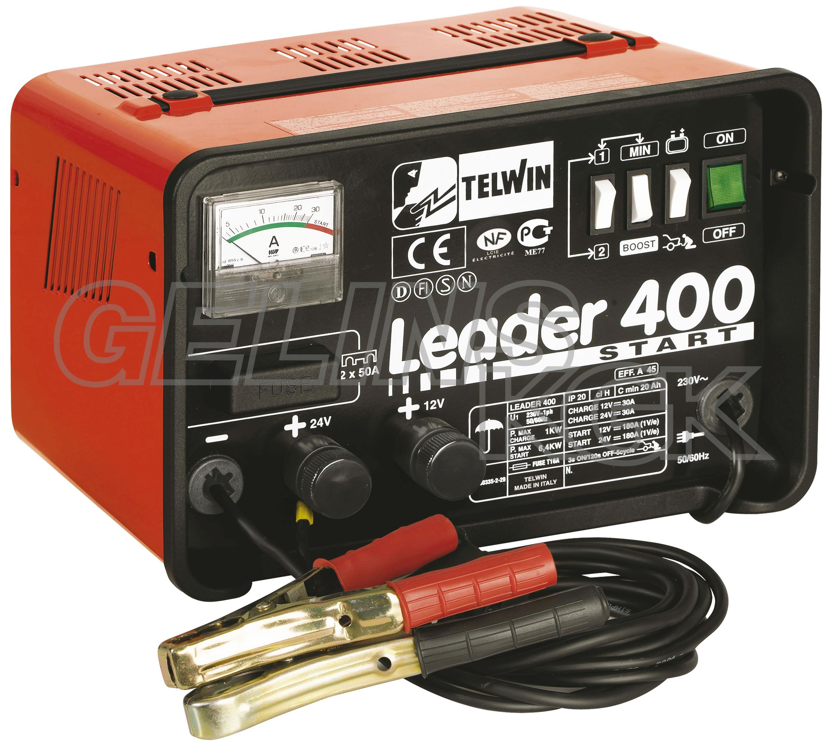 BATTERILADDARE LEADER 400