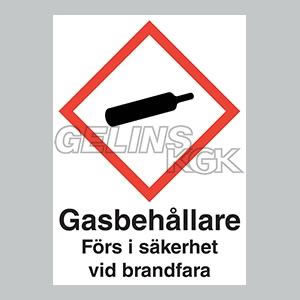 GASSKYLT SJÄLVHÄFTANDE A6