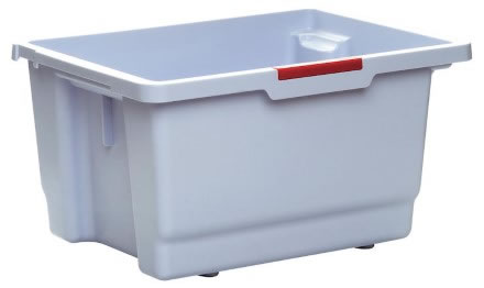 Moppbox Vileda städvagn m färgkodning