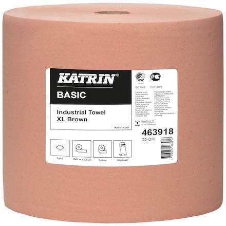 Torkrulle 1-lag retur 1000m/rl Katrin Basic Industri XL