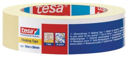 Maskeringstejp Tesa 4323 25mmx50m