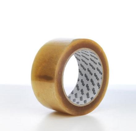 Packtejp PP med gummihäftämne Transparent 50mmx66m