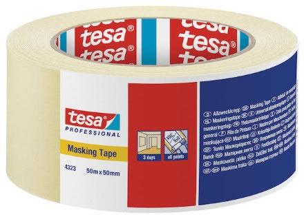 Maskeringstejp Tesa 4323 50mmx50m