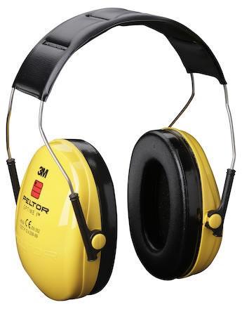 Hörselkåpa hjässbygel Peltor Optime I H510A