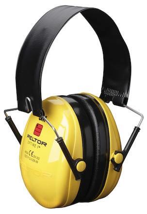 Hörselkåpa hjässbygel Peltor Optime I H510F