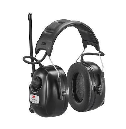 Hörselkåpa hjässbygel Peltor DAB+ FM-radio HRXD7A-01