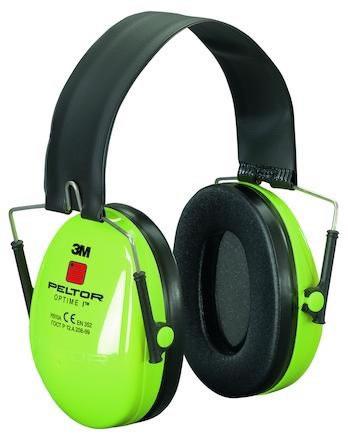 Hörselkåpa hjässbygel Peltor Optime I Hi-Vis H510F