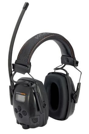 Hörselkåpa hjässbygel Worksafe Radio 3.0