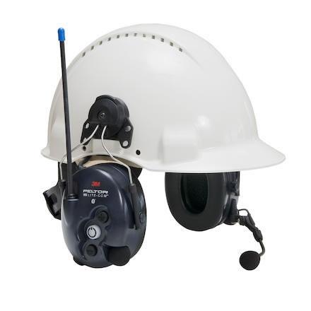 Hjälmkåpa MT53H7P3E4410WS5 Peltor WS LiteCom PMR 446 MHz