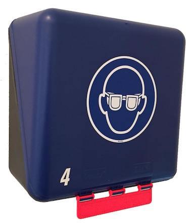 Förvaringsbox Gebra Midi 4 skyddsglasögon