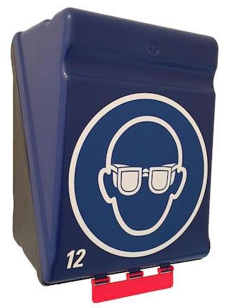 Förvaringsbox Gebra Maxi 12 skyddsglasögon