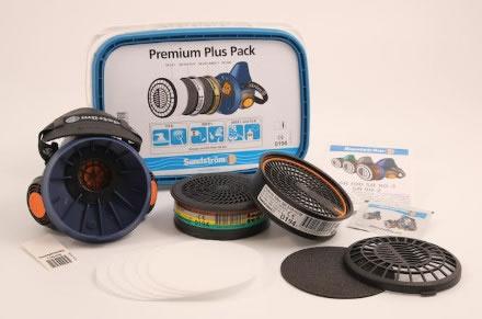 Halvmask Sundström SR 100 Premium Plus Pack