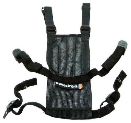 Bandställ i textil f helmask SR 200