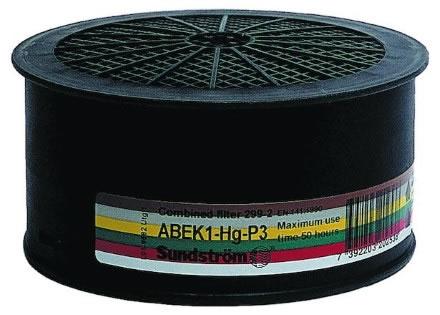 Kombifilter SR 299-2 ABEK1 P3 Hg