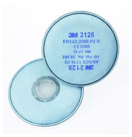 Partikelfilter 3M 2128F P2 20st/fp