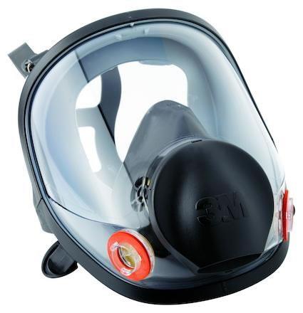 Helmask i silikon 3M 6700