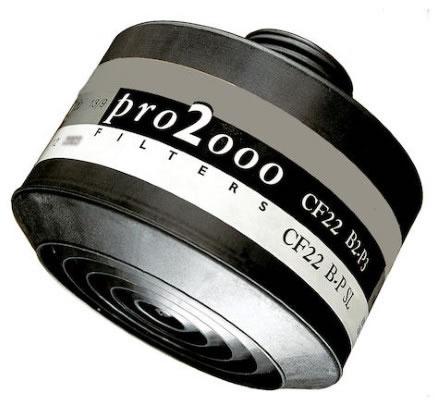 Kombifilter SCOTT Pro 2000 CF22, B2/P3 (042671)