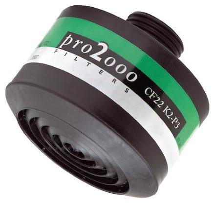 Kombifilter SCOTT Pro 2000 CF22, K2/P3 (042673)