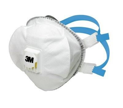 Filtrerande halvmask 3M 8825+ klass FFP2 R D-V