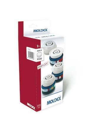 Gasfilter Moldex 923012, A2P3 EasyLock 1 par/frp