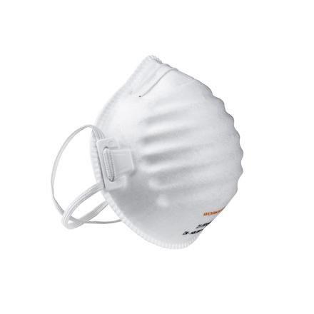 Filtrerande halvmask 5st/frp FFP2 utan ventil Worksafe