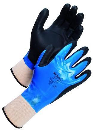 Nitrilhandske Showa 377 Nitrile Foam Grip