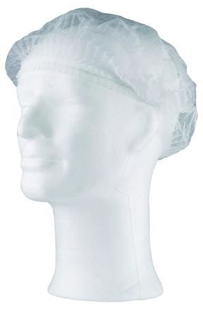 Mössa 100st/fp Worksafe PP mob cap