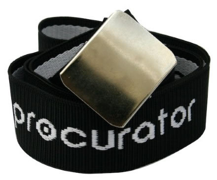 Bälte Procurator logga