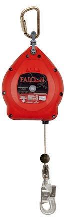 Fallskyddsblock Falcon 10m Rostfri Vajer