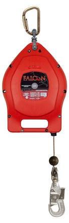 Fallskyddsblock Falcon 15m Rostfri Vajer