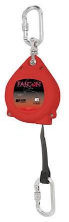 Fallskyddsblock Web Falcon 6m Karbin/Karbin