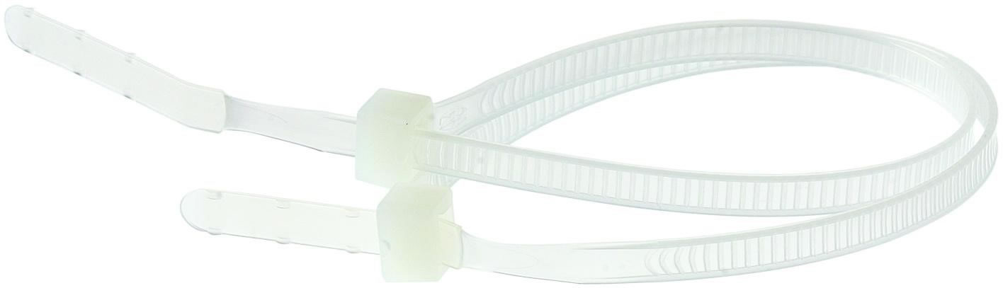 Buntband 37cm Plast 1000st/fp