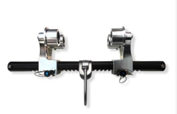 Balkryttare med hjul Pro 300 För balkar 76 - 300 mm