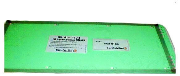 Lös siktskiva R03-0306 t SR 63