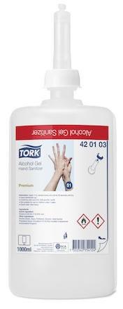 Handdesinfektion Tork Premium Alcogel S1 85%