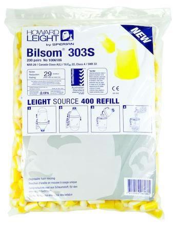 Hörselpropp Refill Bilsomat400 Bilsom 303S 200 par/fp